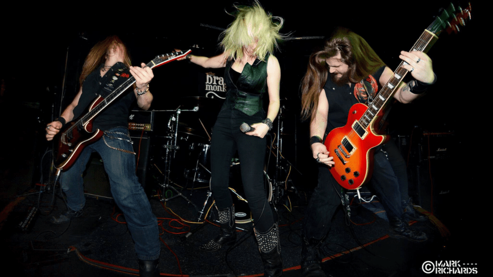 Sotic's Kate Maunsell is also in a heavy metal rock band